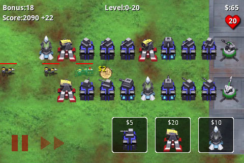 Robot Defense - Free game on Android