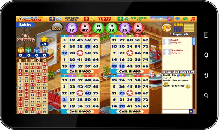 android bingo app